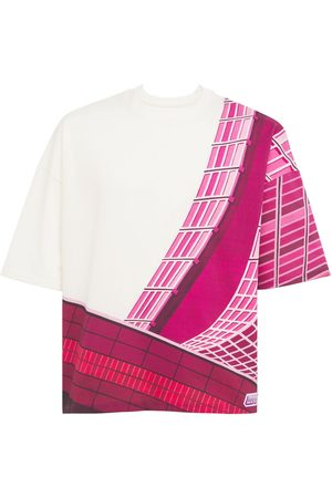 Formy Studio Cotton Printed Oversize Rose T-shirt