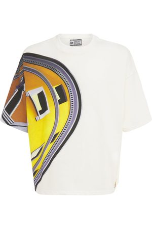 Formy Studio Oversize Printed Cotton T-shirt