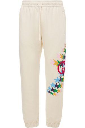 Gucci Light Felted Cotton Jogging Pants