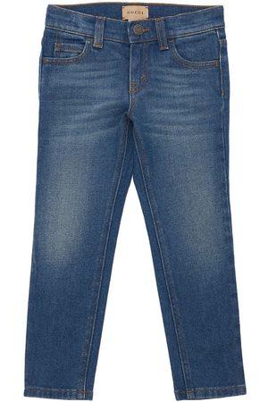 Gucci Girls Jeans - Embroidery Organic Jeans