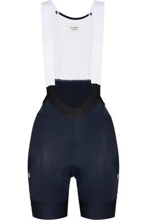 Pas Normal Studios Women Sports Shorts - Mechanism contrast strap bib shorts