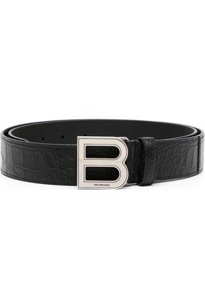 Balenciaga Hourglass logo-plaque belt