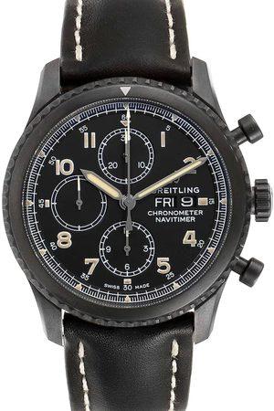 Breitling Blacksteel Navitimer Chronograph A13314 Men's Wristwatch 43 MM
