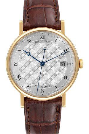 Breguet 18K Yellow Gold Classique 5177 Men's Wristwatch 38 MM