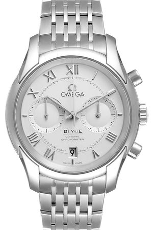 Omega Stainless Steel DeVille Co-Axial Chronograph 431.10.42.51.02.00 Men's Wristwatch 42 MM