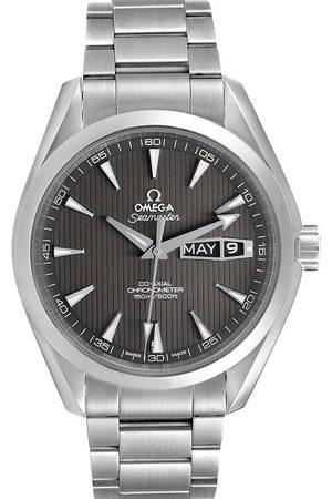 Omega Men Watches - Grey Stainless Steel Seamaster Aqua Terra Annual Calendar 231.10.43.22.06.001 Men's Wristwatch 43 MM