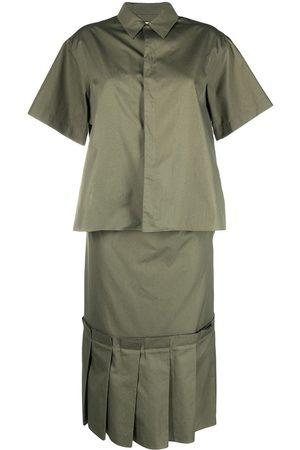 Marni Women Casual Dresses - Layered-effect shirt dress