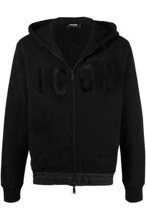 Dsquared2 Men Hoodies - Icon zip hoodie