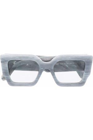 OFF-WHITE Catalina square-frame sunglasses - Grey