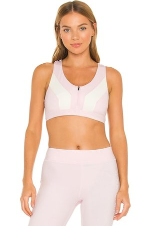 Perfect Moment Women Sports Tops - Vale Rainbow Seamless Fitness Top in .