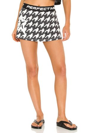 Perfect Moment Starlight Skirt in Charcoal.