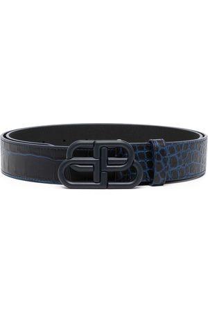 Balenciaga BB logo-plaque belt