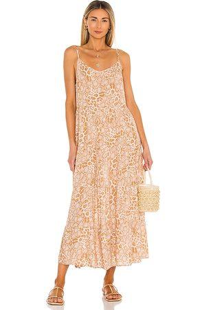 Show Me Your Mumu Caroline Maxi Dress in Neutral.