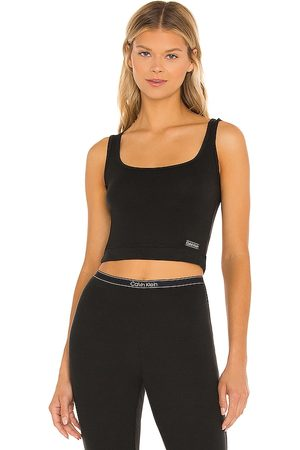 Calvin Klein Pure Ribbed Tank in .