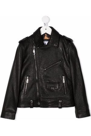 Philipp Plein Girls Bomber Jackets - Iconic Plein biker jacket