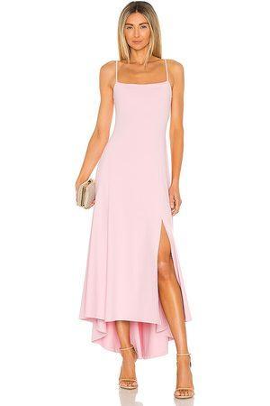 Susana Monaco Women Maxi Dresses - Thin Strap Maxi Dress in Blush.
