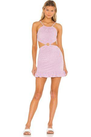 MAJORELLE Devyn Mini Dress in Lavender.