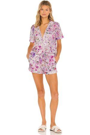 Generation Love Lenox Floral Pajama Set in Lavender.