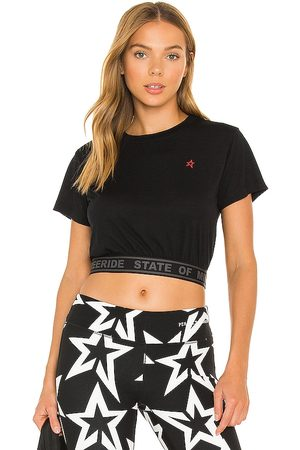 Perfect Moment Waisted Sport Tee in .