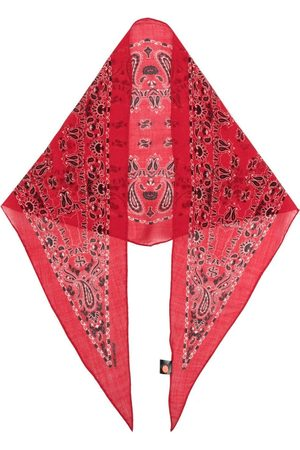 Saint Laurent Men Scarves - Paisley print scarf