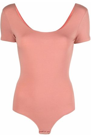 Diesel Women Lingerie Bodies - Short-sleeved logo body