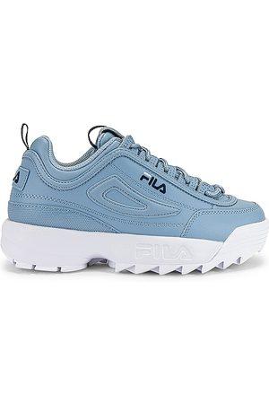 Fila Disruptor II Premium Sneaker in Baby .