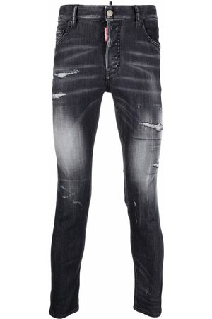Dsquared2 Ripped-detail skinny jeans