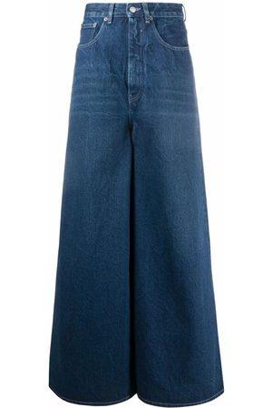 MM6 MAISON MARGIELA High-rise wide-leg jeans