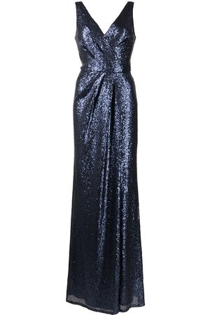 Marchesa Notte Atrani gathered-detail bridesmaid gown