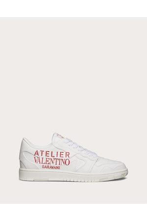 VALENTINO GARAVANI Atelier Shoes 07 Camouflage Edition Low-top Sneaker In Calfskin Women 100% Pelle Bovina - Bos Taurus 35