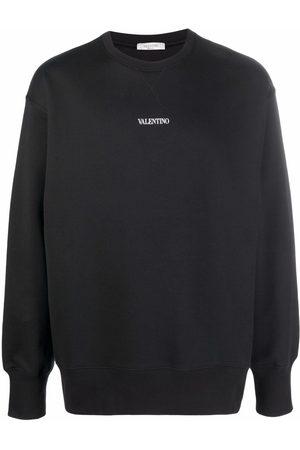 VALENTINO Men Sweatshirts - Logo-print sweatshirt