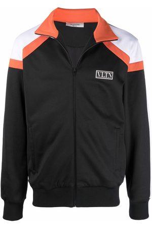 Valentino VLTN-motif zip-up jacket