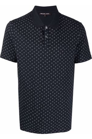Michael Kors Men Polo Shirts - Paisley-print polo shirt