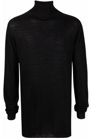 Rick Owens Roll-neck knitted jumper