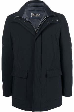 HERNO Men Puffer Jackets - Single-breasted padded coat