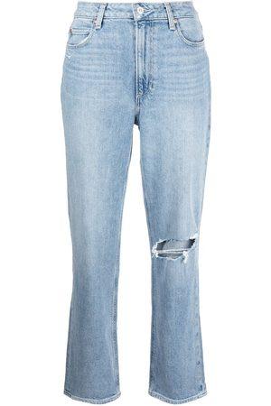 Paige Women High Waisted - Noella high-waist straight leg jeans - MONTAGUE