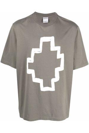 MARCELO BURLON Logo-print cotton T-shirt