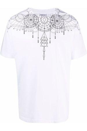 MARCELO BURLON Men T-shirts - Astral Wings cotton T-shirt