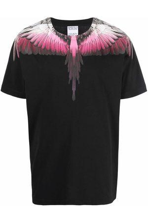 Marcelo Burlon County of Milan Men T-shirts - Wings-print cotton T-shirt