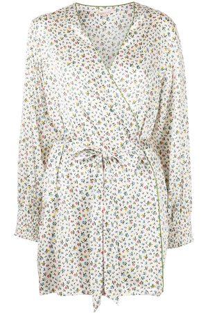 Morgan Lane Larsen Confetti Floral print robe