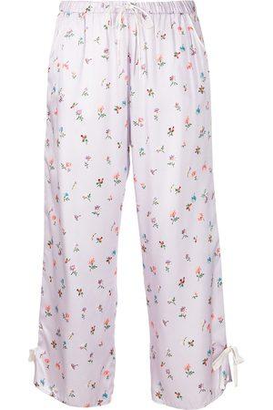 Morgan Lane Women Pajamas - Petal floral-print pants
