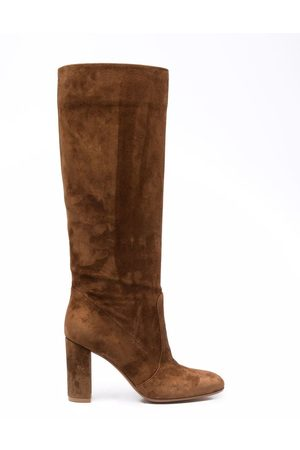 Gianvito Rossi Women Thigh High Boots - Knee-length panelled boots
