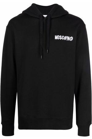 Moschino Men Hoodies - Symbols logo hoodie