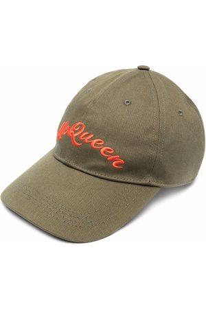 Alexander McQueen Men Caps - Embroidered logo cap