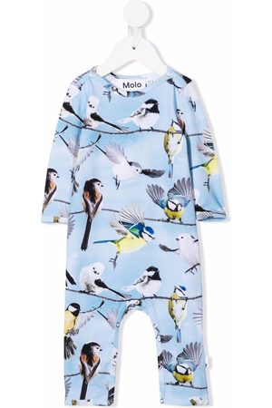 Molo Baby bird print pyjamas