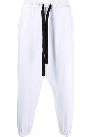 Alchemy Cropped drop-crotch trousers