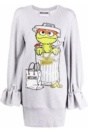 Moschino Sesame Street© fleece dress - Grey