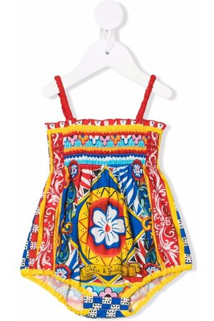 Dolce & Gabbana Abstract-print romper
