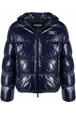 Dsquared2 Glossy puffer jacket