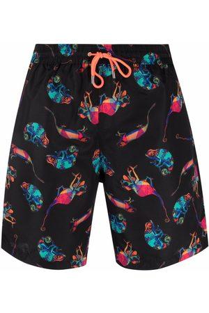 PAUL SMITH Jellyfish print swim shorts
